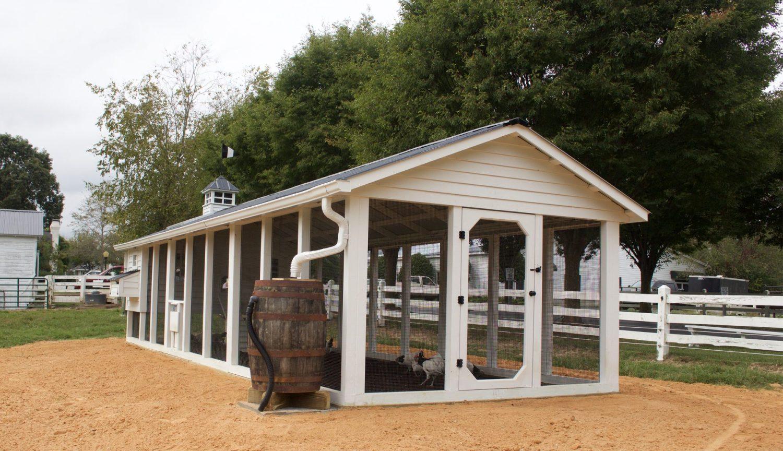 Carolina Coops-Fearrington Village-commercial chicken coop