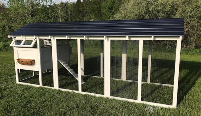 Carolina Coops -American coop-black roof (1)