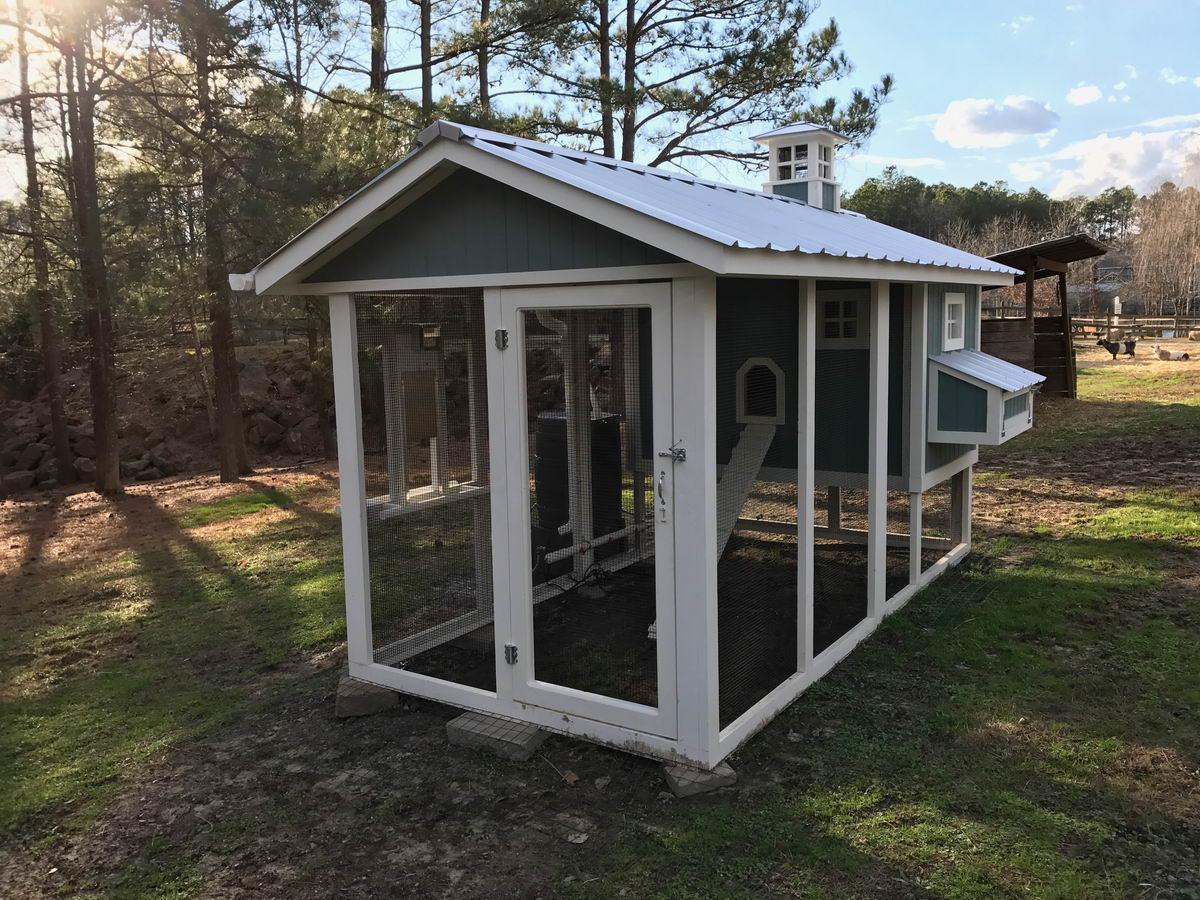 Carolina Coops – Custom designed chicken coops – For Gardens Sake-16