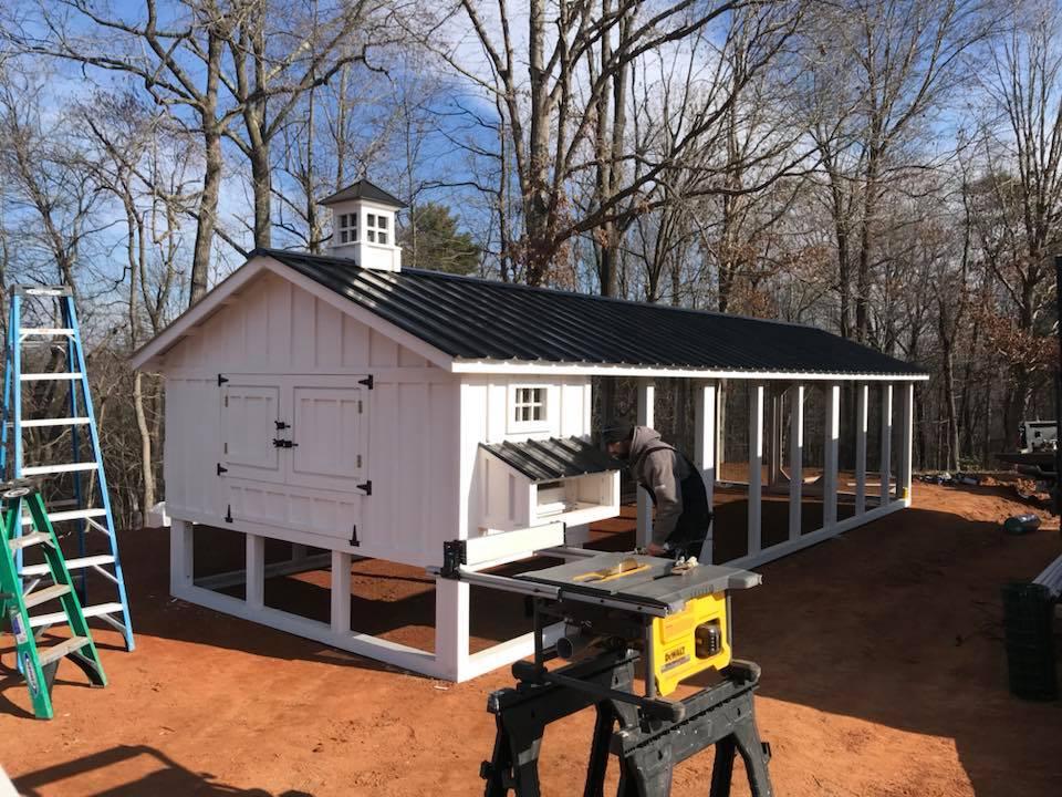 Carolina Coops-4×4 construction – mortise and tenon coops- Lynchburg-VA