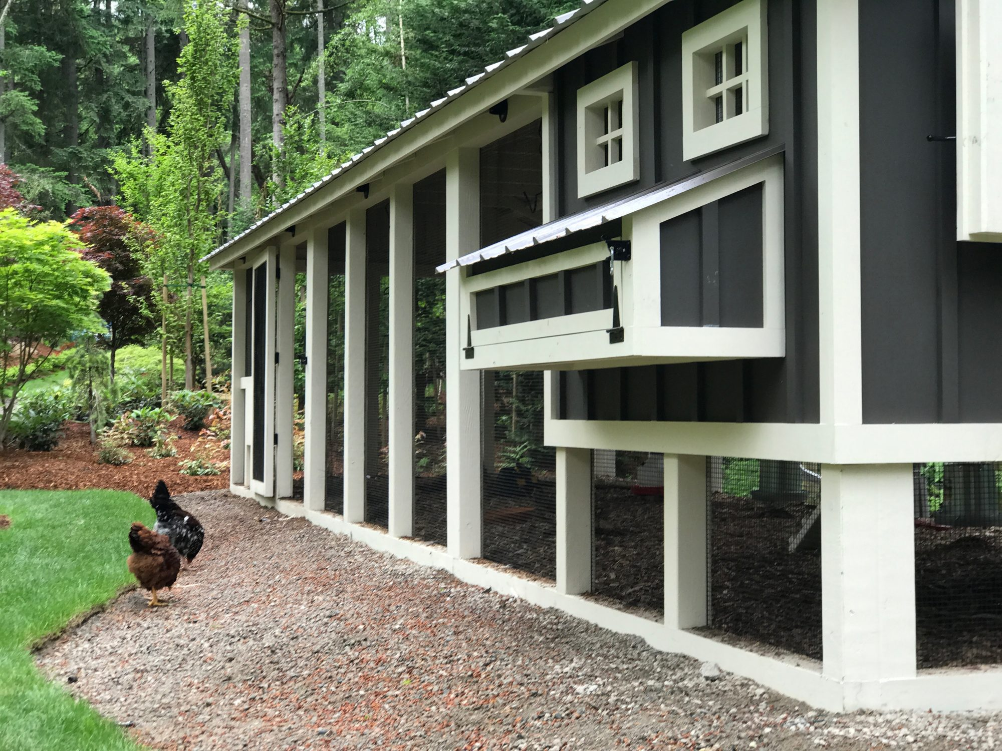 Carolina Coops-4×4 construction – mortise and tenon coops(1)