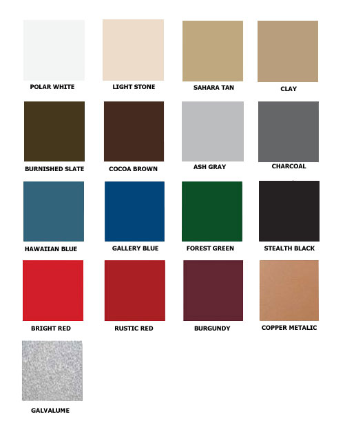 Carolina Coops - roofing-colors