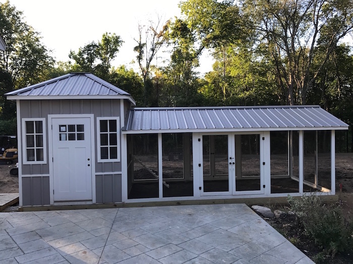 Custom Shed/Chicken Coop in Boston, Massachusetts