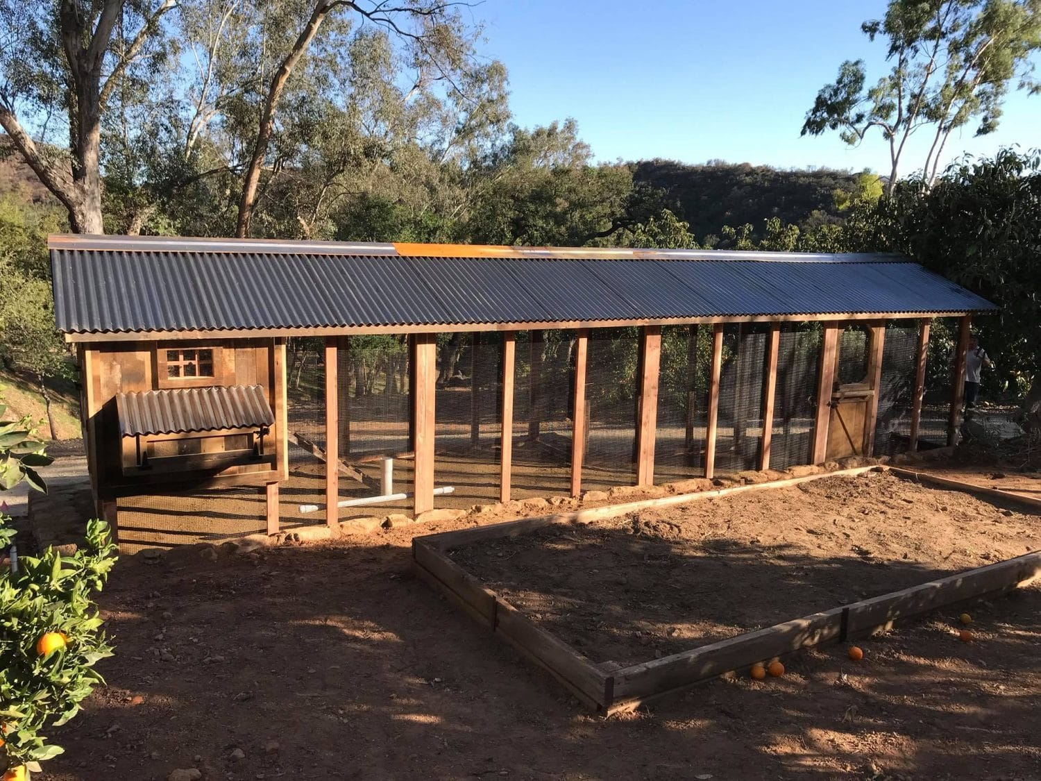 Carolina Coops-custom-chicken coop-roofing