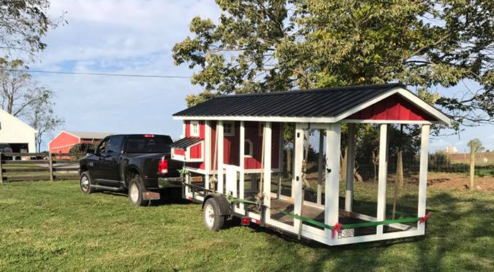 Carolina Coops-delivery of custom coops