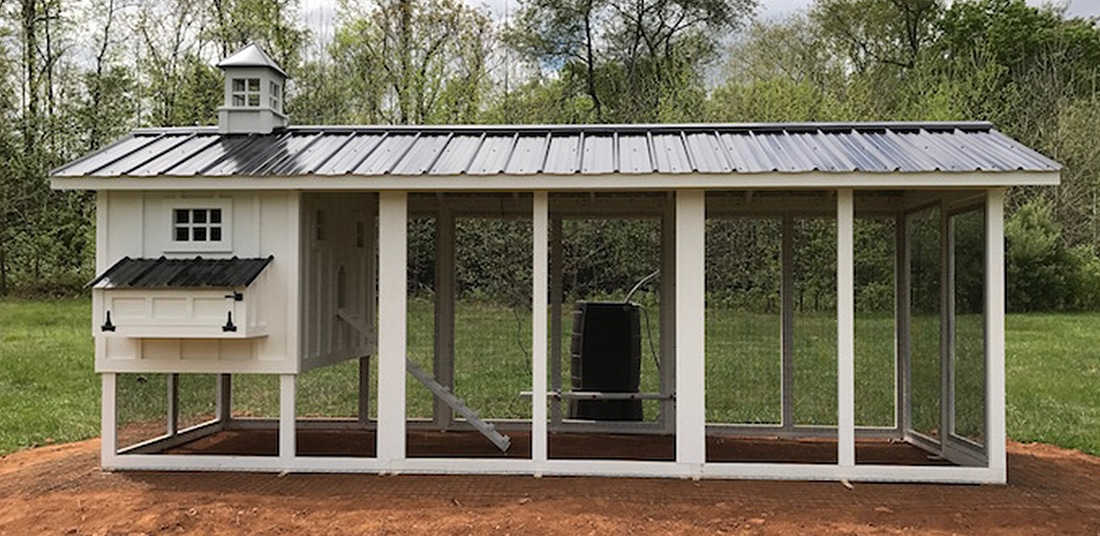 Carolina Coops - carolina chicken coop options