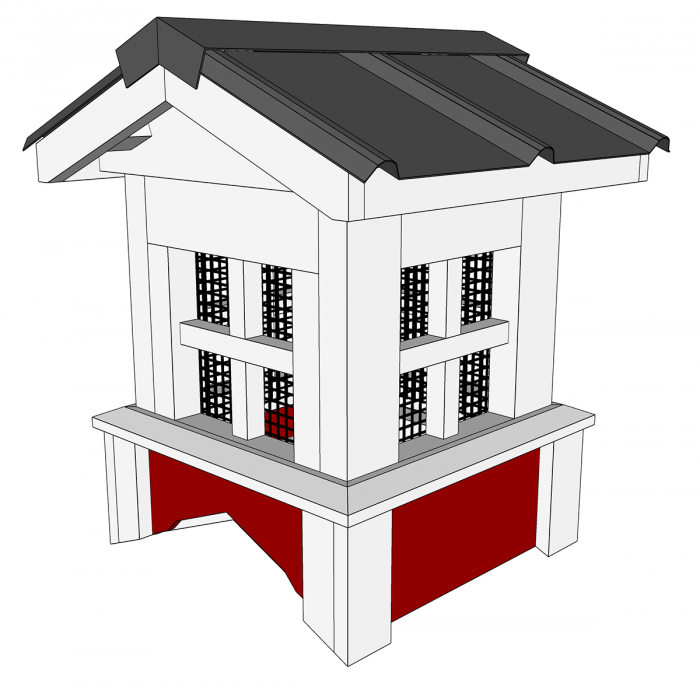 Gable Roof Cupola