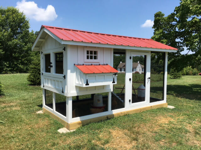 6′ x 12′ Carolina Coop with 4′ x 6′ henhouse in Pottstown, PA
