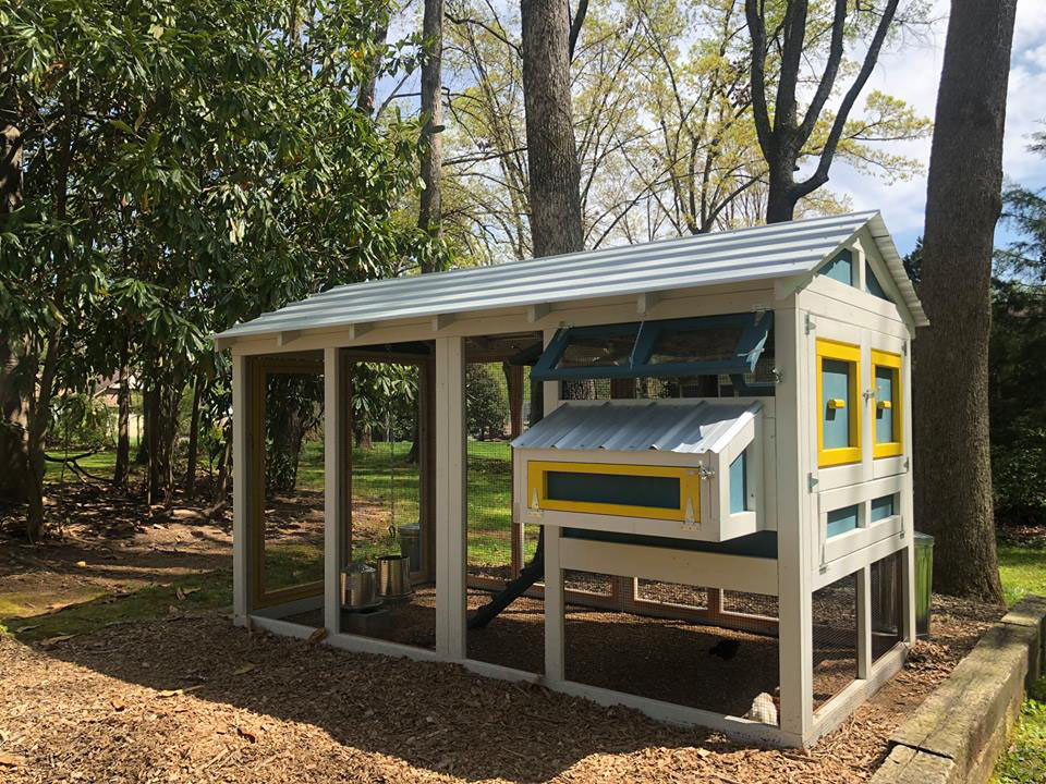 6′ x 12′ American Coop with 4′ x 6′ henhouse in Hickory, NC