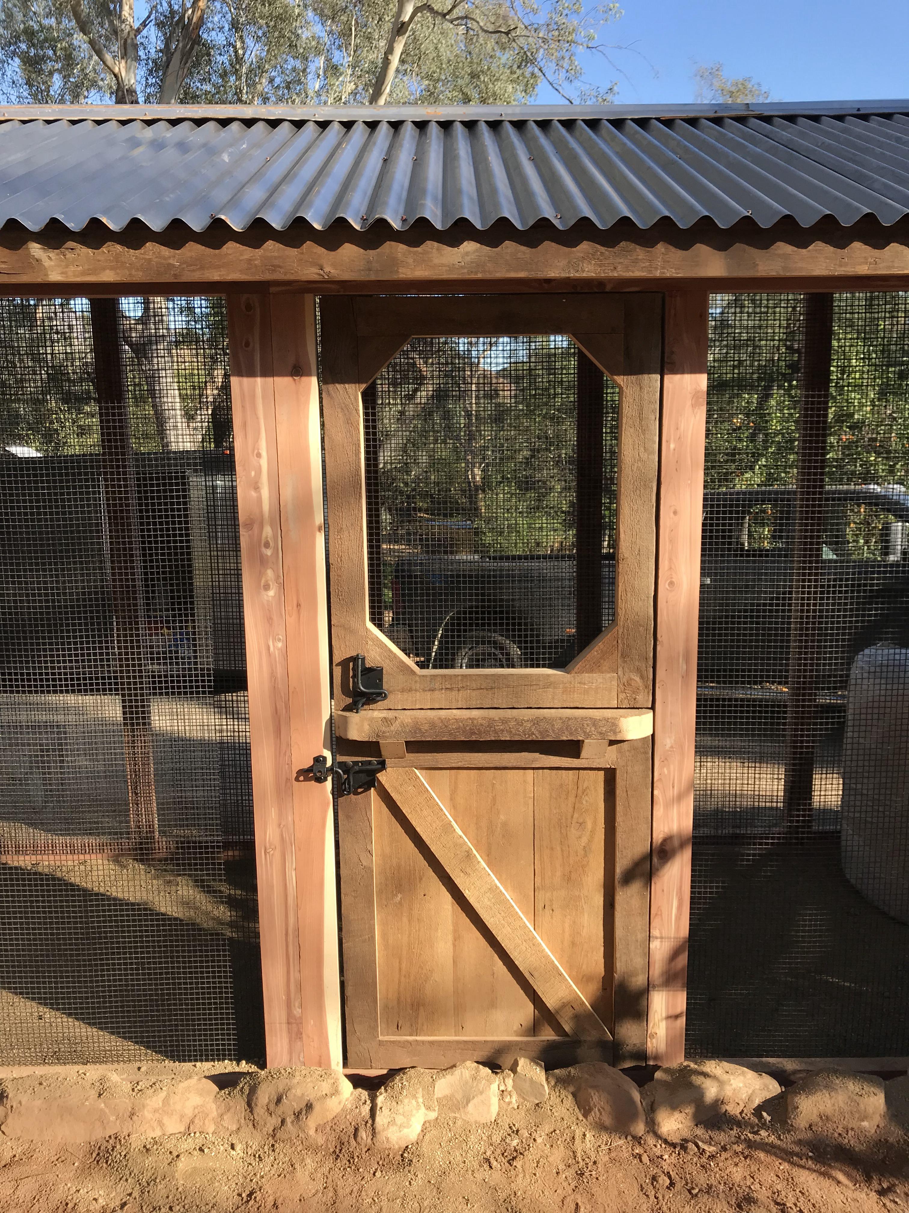 Red cedar reclaimed barn wood in Ojai, CA