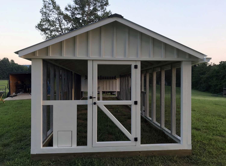 10′ x 40′ Carolina Coop in  Charlottesville, VA