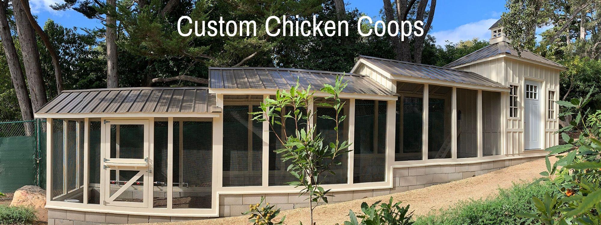 Carolina Coops Custom Chicken Coops