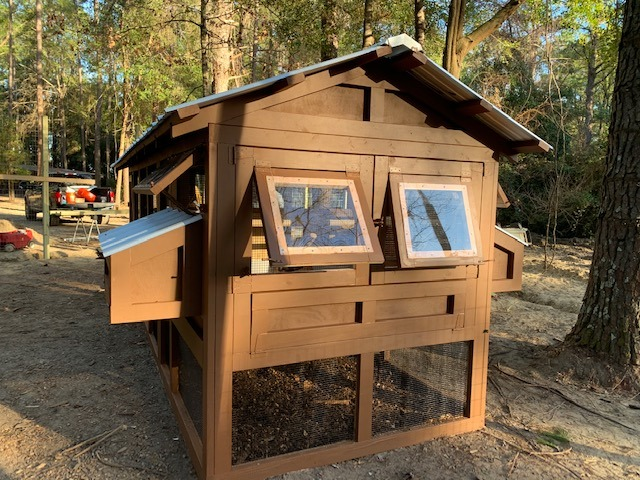 6'x18′ American Coop with 4'x6′ henhouse in Bluffton, SC (1)