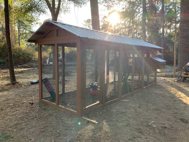 6'x18′ American Coop with 4'x6′ henhouse in Bluffton, SC (2)