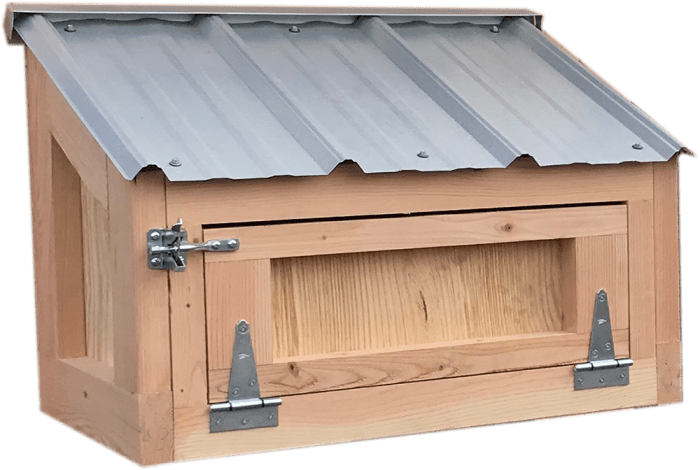 California Coop extra egg hutch