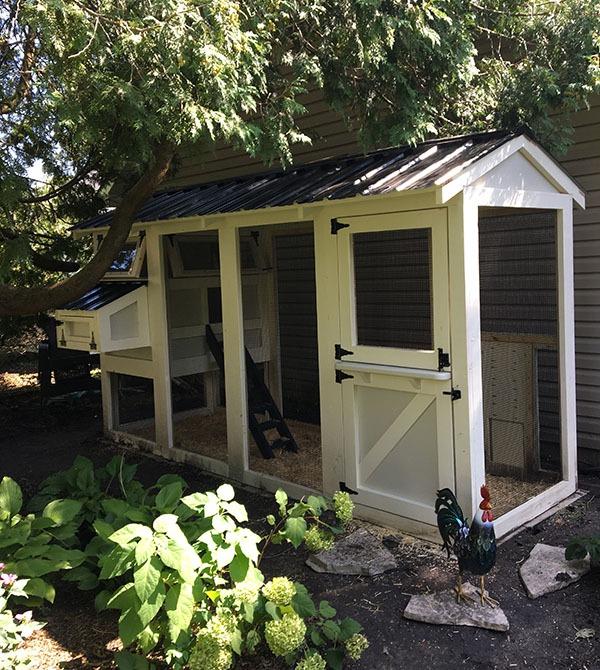 California Coop with Dutch door in Evanston, IL