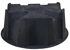 RTS Rain barrel base for 50-gallon rain barrel - circulating poultry water replacement parts