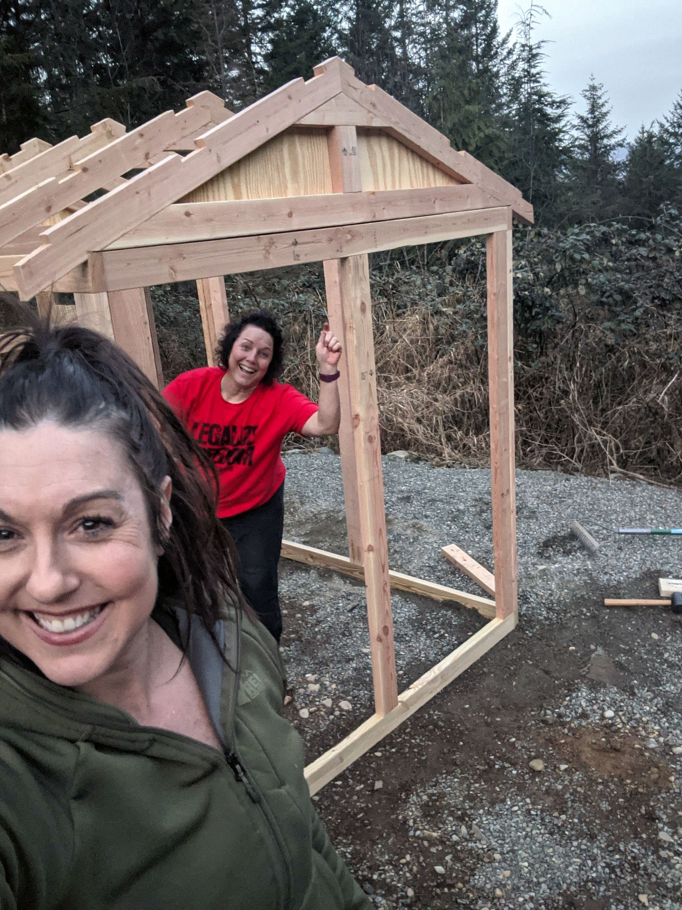 building a 6×12 American Coop in Washington state