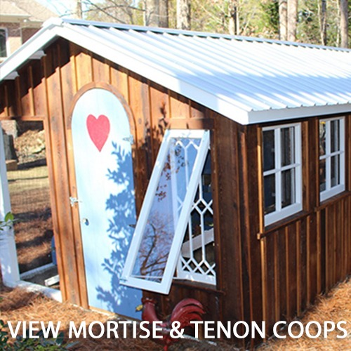Carolina Coops - MORTISE AND TENON Coops Gallery