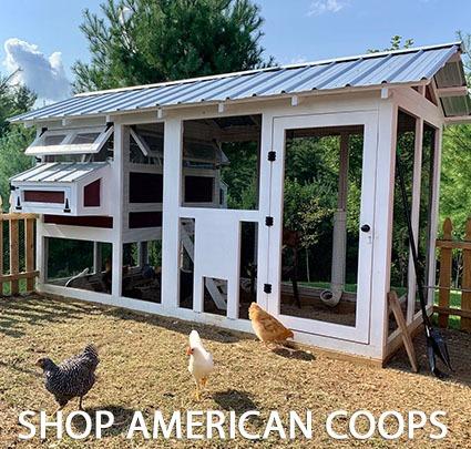 SHOP AMERICAN COOPS