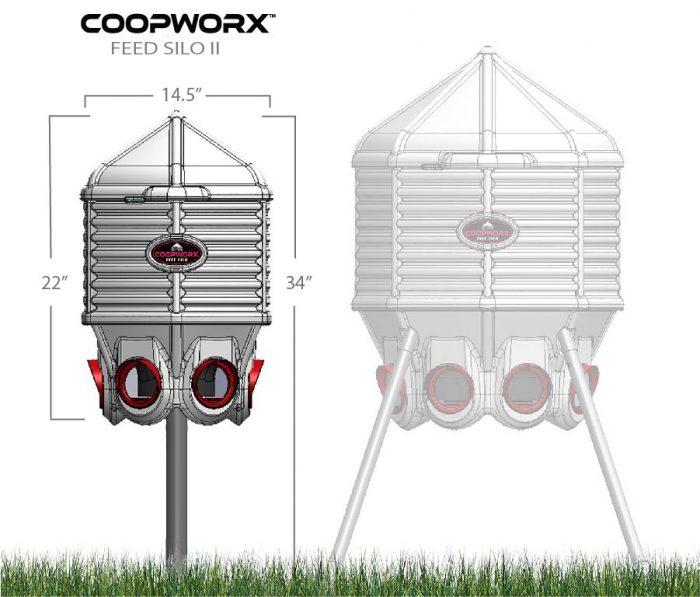 CoopWorx 40lb feeder dimensions (1)